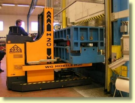 AGAB Werkzeugwechselwagen